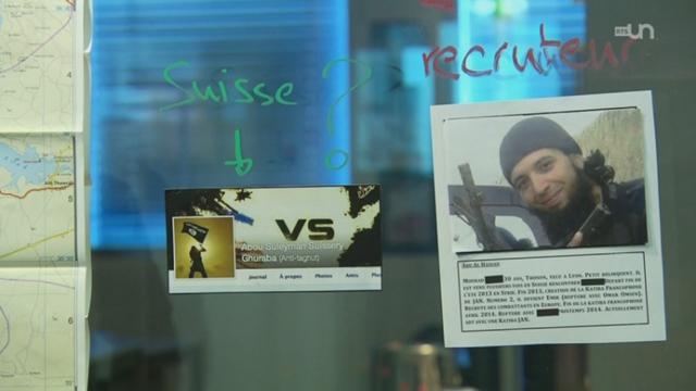 Sur la piste des djihadistes suisses [RTS]