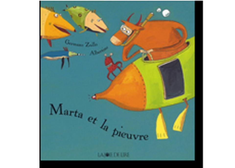"""Marta et la pieuvre"" d'Albertine et Germano Zullo. [RTS]"