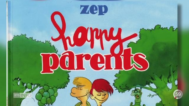"""Zep délaisse Titeuf pour se pencher sur l'univers des parents dans """"Happy parents"""" [RTS]"""