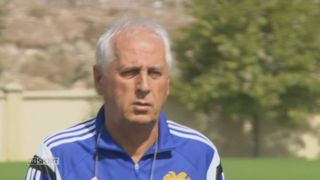 Le Mag- Football: reportage au sein de l'équipe d'Arménie entraînée par le Neuchâtelois Bernard Challandes [RTS]