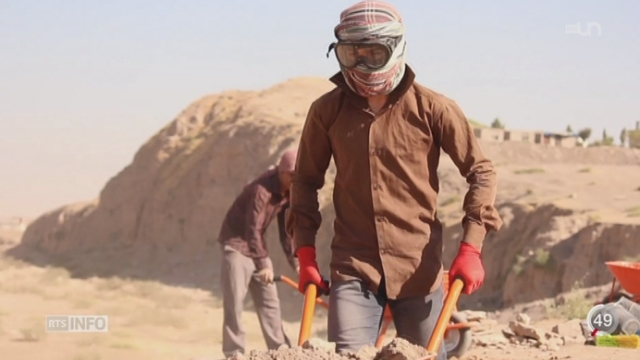 Irak - Syrie: le patrimoine culturel est également menacé par l'État islamique [RTS]