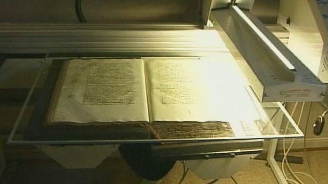 Numérisation des archives de St-Maurice [RTS]