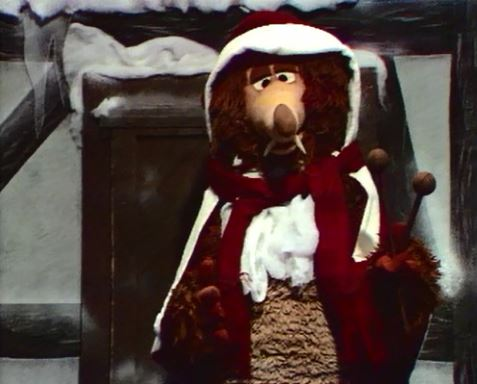 Basile en Père Noël