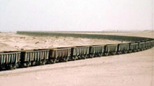 La protection des minerais de fer passe par l'armée mauritanienne. [RTS]