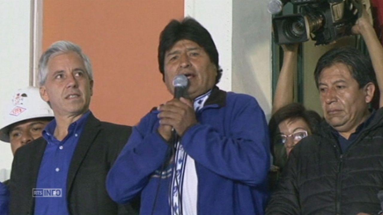 C est la victoire de la nationalisation dit Evo Morales [RTS]