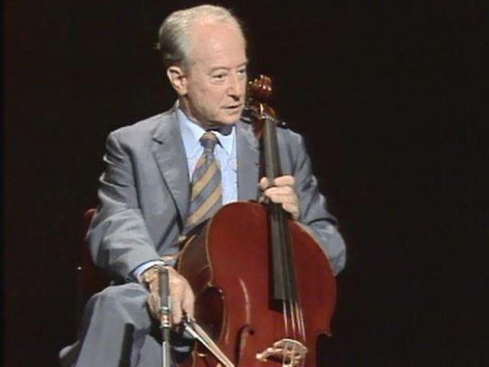3e suite pour violoncelle de Jean-Sébastien Bach. [RTS]