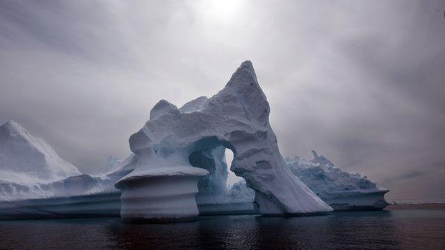 La fonte des glaces pourrait entraîner une montée des océans de 15cm d'ici 2050, selon la Nasa. [John McConnico - Keystone]