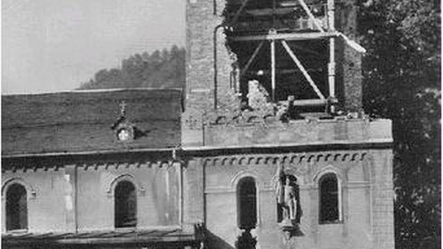 Clocher de Saint-Maurice après 1942 [AVEG]