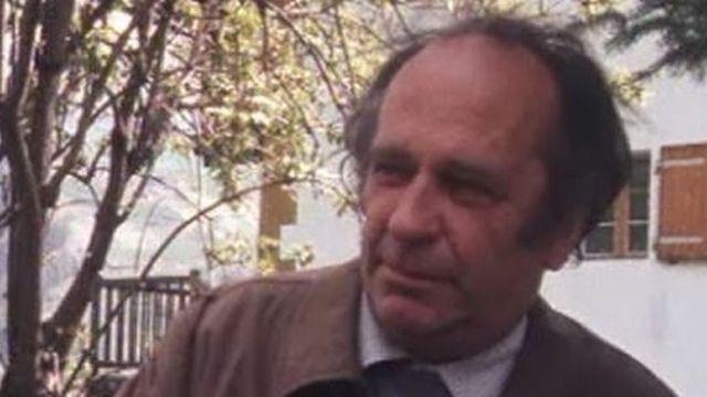 Jean Quinodoz, compositeur, en 1988 [RTS]