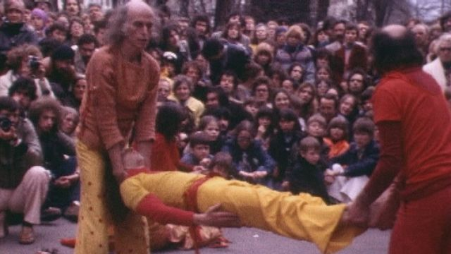Le Living Theater à la Chaux-de-Fonds, 1977. [RTS]