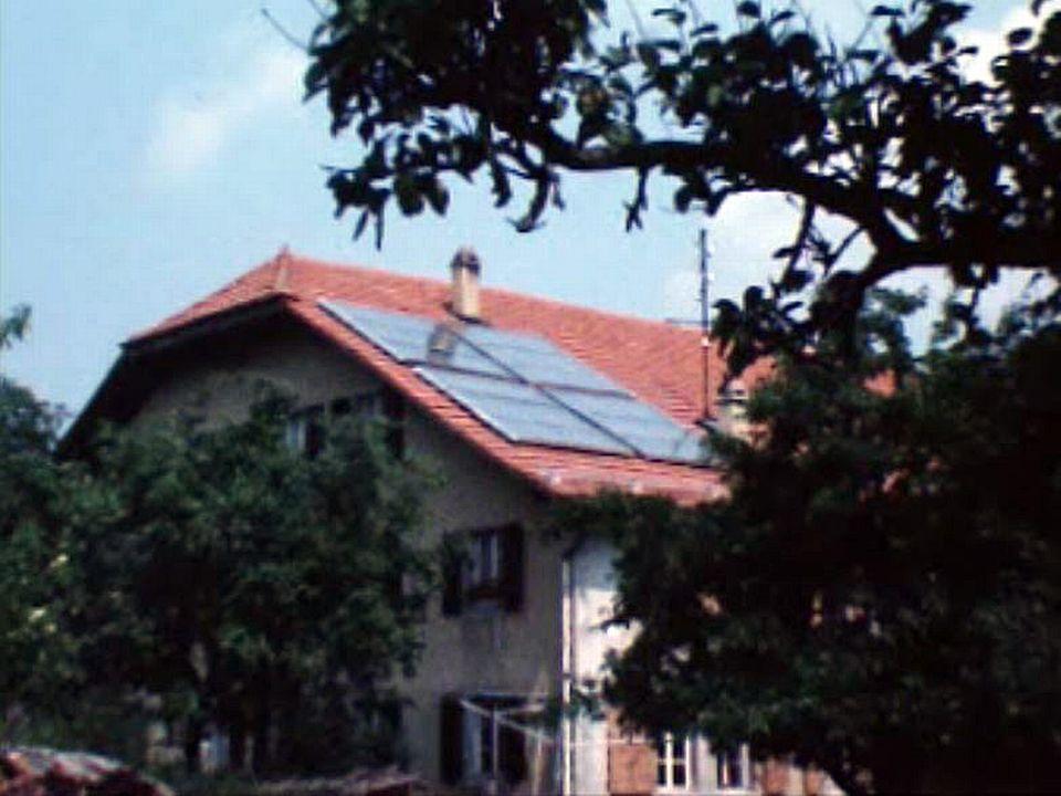Dès les années 70 l'énergie solaire est utilisée en agriculture. [RTS]