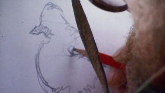 Une balade en Gruyère avec le peintre animalier Jacques Rime. [RTS]