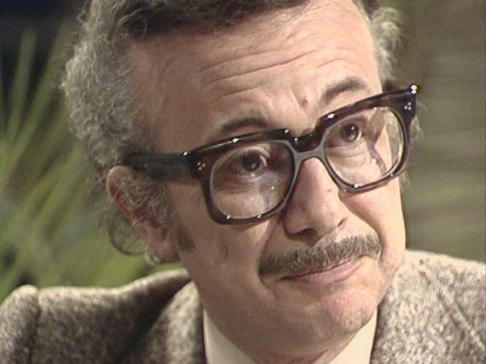 Greg, le papa d'Achille Talon, en 1977. [RTS]
