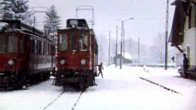 Les trains privés du canton de Vaud dans la ligne de mire. [RTS]