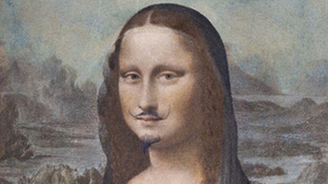 """Visuel de l'exposition """"Marcel Duchamp. La peinture, même"""". [centrepompidou.fr]"""