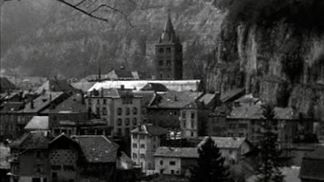 Saint-Maurice en 1963 [RTS]