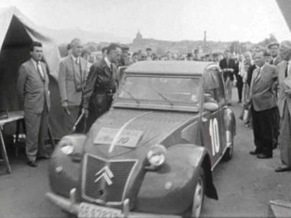 Départ Rallye de Genève [RTS]