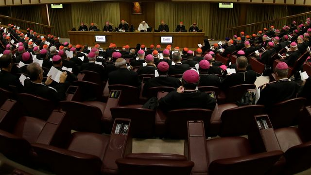 Les débats sur la famille ont été vifs au Vatican. [Andrew Medichini - AP Photo/Keystone]