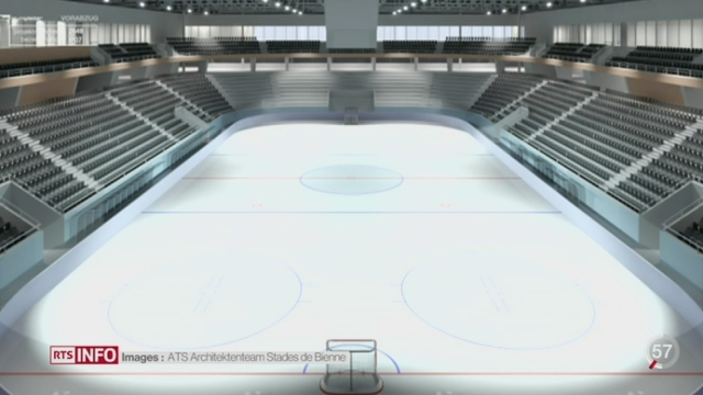 Hockey: le HC Bienne a perdu sèchement à Lausanne [RTS]