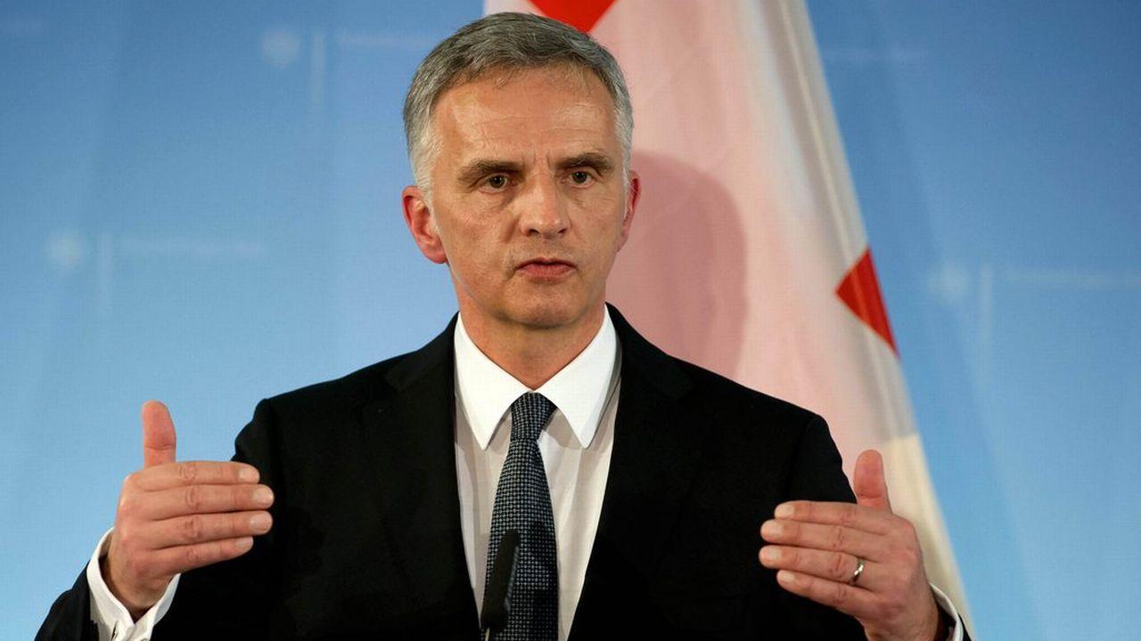 Didier Burkhalter. [EPA/Tim Brakemeier - Keystone]