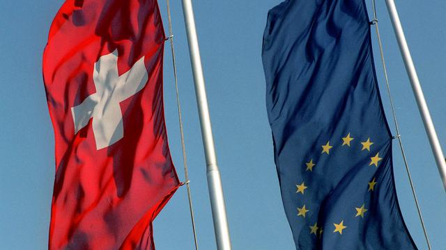 La Suisse prend conscience de la nécessité de s'aligner sur les pratiques bruxelloises. [Elisabeth Guenthard - Keystone]