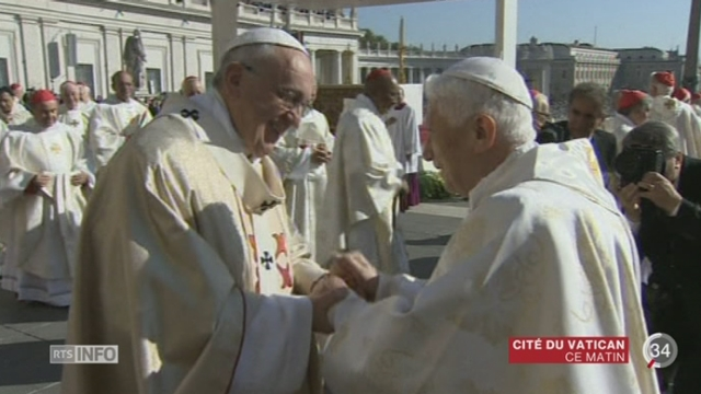 Le pape François a clôturé le synode extraordinaire sur la famille [RTS]