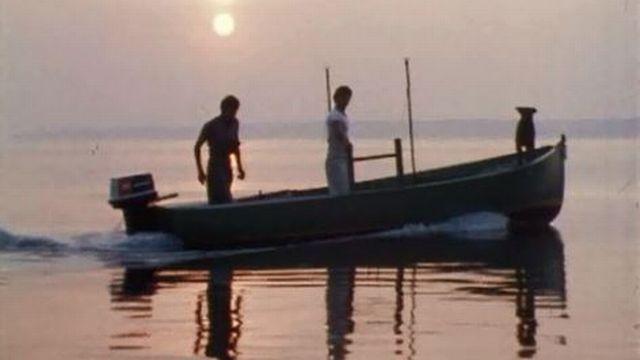 Le Léman, entre navigation de plaisance et pêche professionnelle. [RTS]