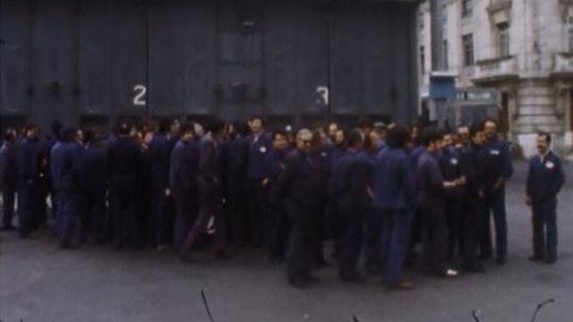 Après trois semaines de grève, le travail reprend chez Matisa. [RTS]