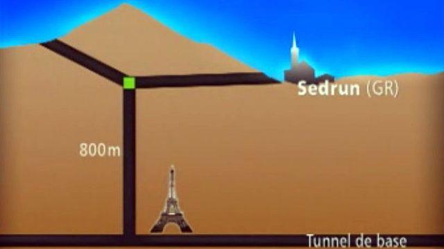 Un projet fou de gare ferroviaire à 1000 mètres sous terre.