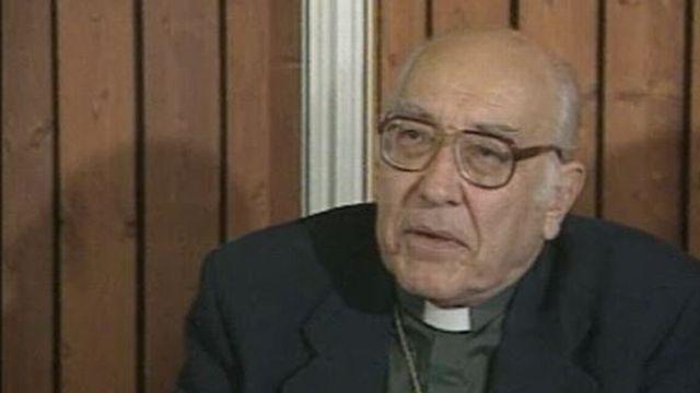 Mgr Henri Salina, président de la Conférence des Evêques suisses [RTS]