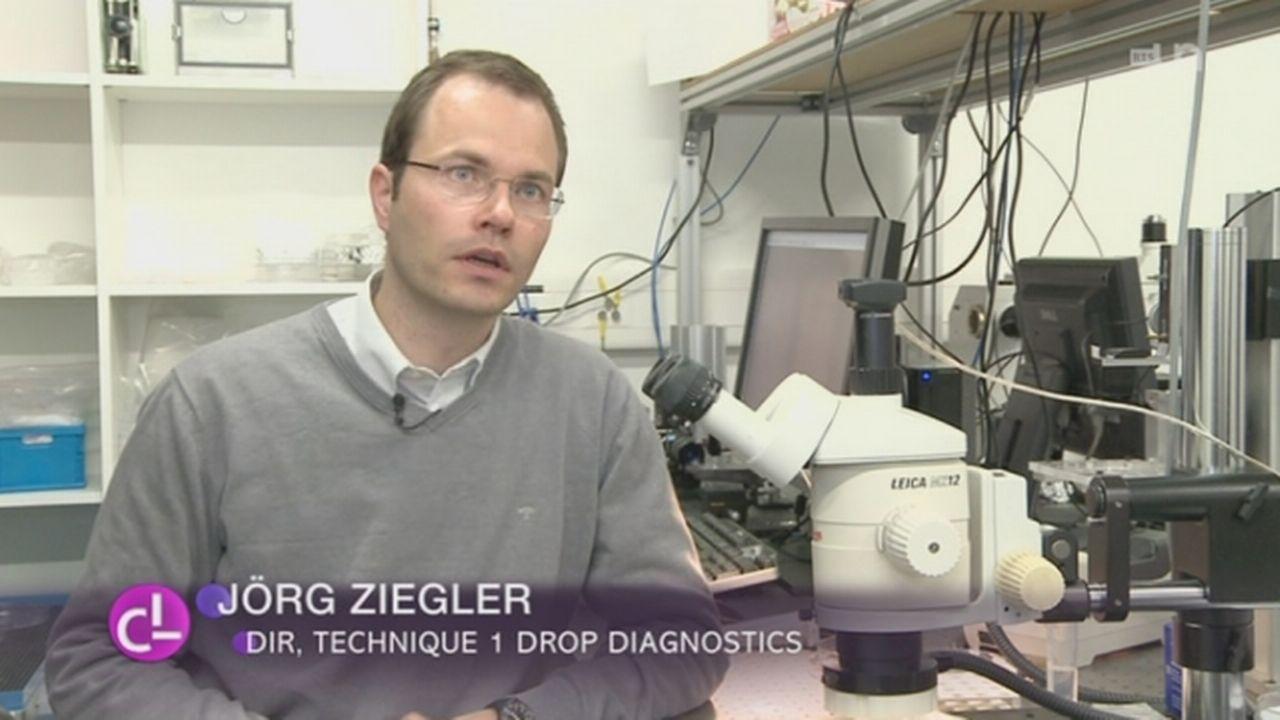 NE: une start-up, qui a mis sur pied un diagnostic médical ultre rapide, gagne un prix de 300'000 CHF [RTS]