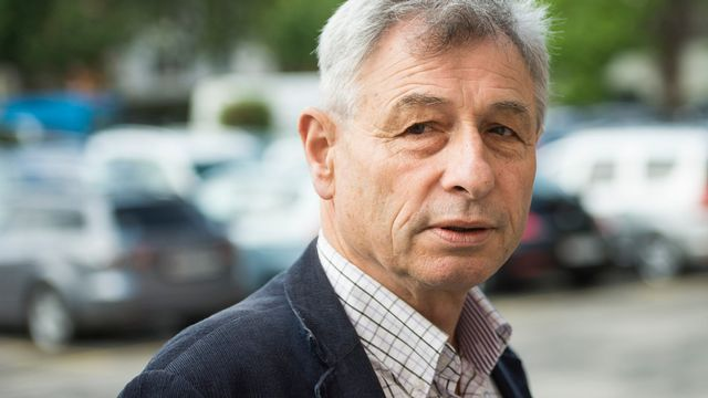 Jean-Pierre Grin, conseiller national UDC vaudois. [Jean-Christophe Bott - Keystone]
