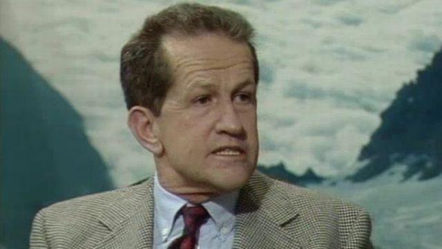 Gaston Rébuffat en 1976. [TSR]