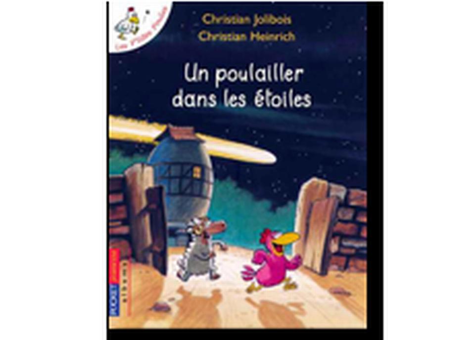 """""""Un poulailler dans les étoiles"""" de Christian Jolibois et Christian Heinrich. [RTS]"""