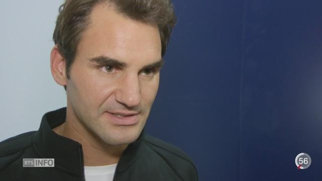 Tennis - Swiss Indoors de Bâle: Roger Federer affiche une très grande forme [RTS]