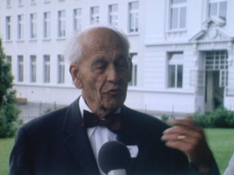 Interview du petit-fils de Daniel Peter en 1975.