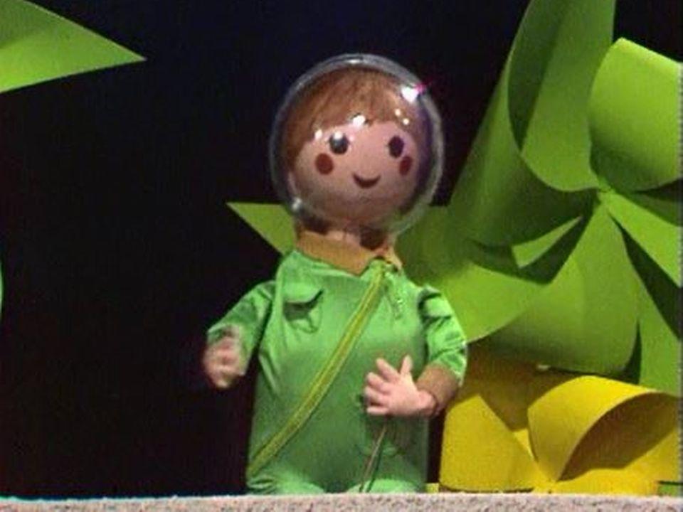 La poupée Capsule aux commandes de Taxibulle. [RTS]