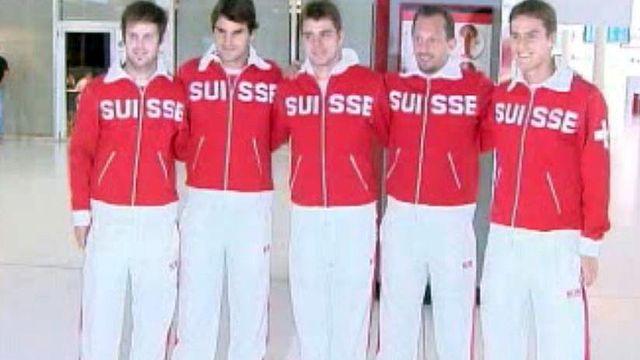 Dans les coulisses du match Suisse Grande-Bretagne.