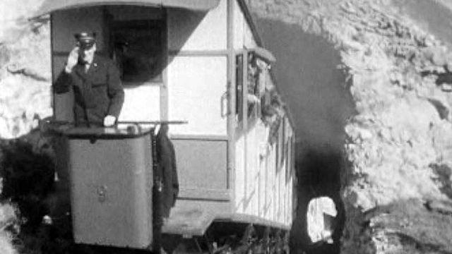 Reportage sur la nouvelle locomotrice de la gare de Delémont.