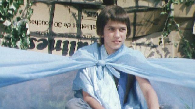 Le petit Vincent Perez, jeune acteur à l'accent détonnant! [RTS]