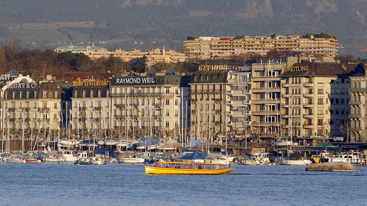 Le groupe LSK dispose d'une antenne à Genève. [Uli Deck - AFP]
