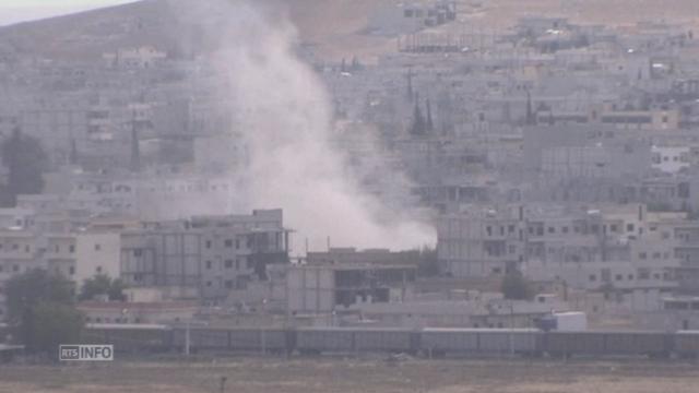 Nouvelle offensive de l'EI sur la ville de Kobané [RTS]
