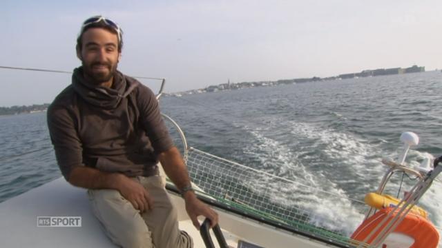 Voile - Route du Rhum: Alan Roura se prépare pour se lancer dans l'aventure [RTS]