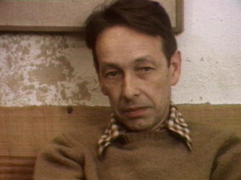 Philippe Jaccottet en 1975. [RTS]
