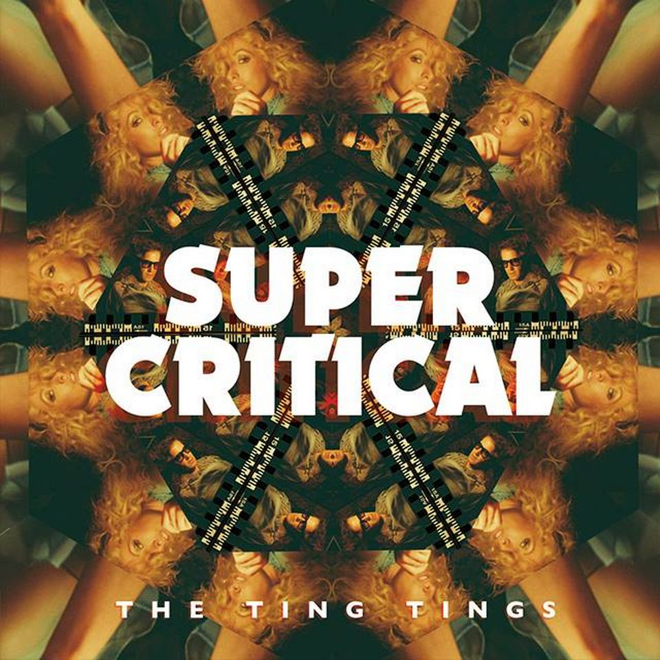 "La pochette de l'album ""Super Critical"" de The Ting Tings. [thetingtings.com]"