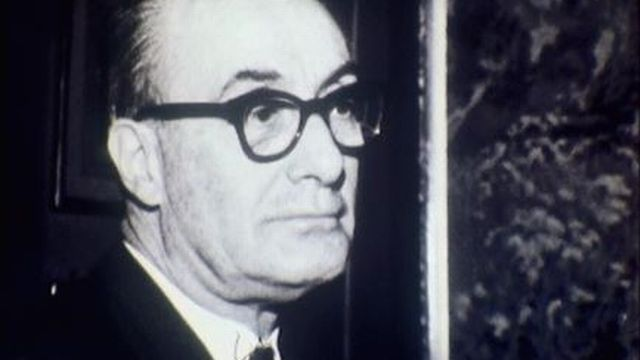 L'ex-avocat Pierre Jaccoud condamné pour assassinat en 1960. [RTS]