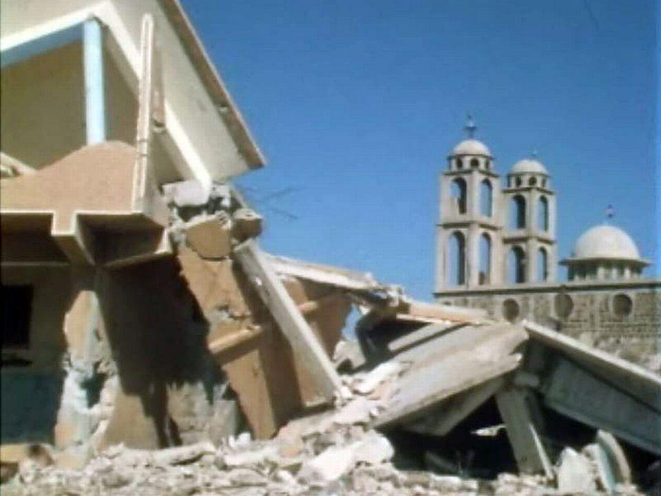 La Syrie, menée par le parti Baas, doit se reconstruire. [RTS]