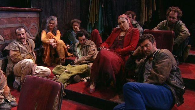 La troupe du Théâtre des Osses en 2009. [RTS]