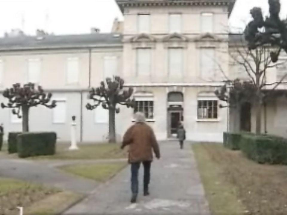 Entrée du musée d'ethnographie de Genève (MEG). [RTS]