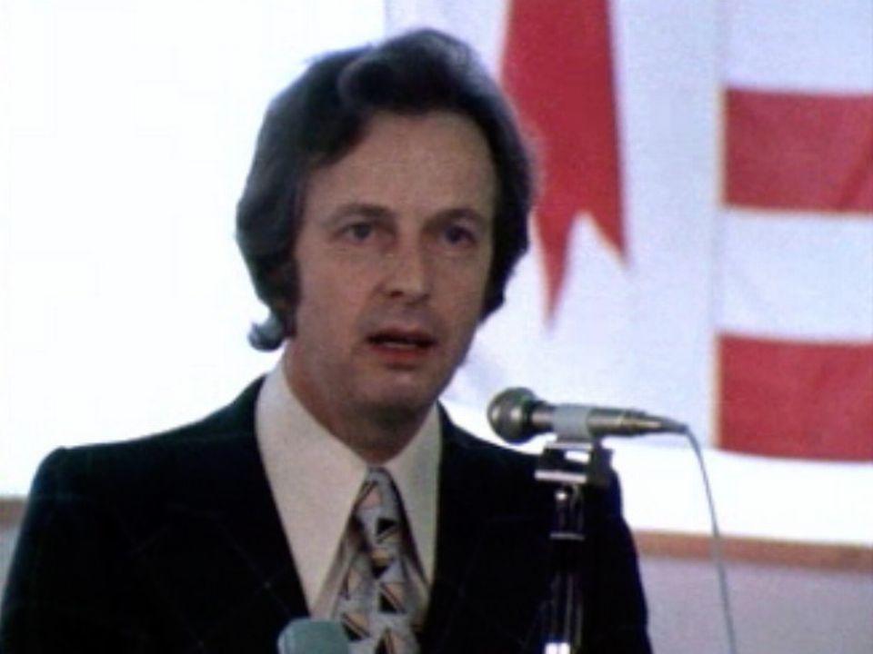 En 1974, la campagne du plébiscite bat son plein dans le Jura. [RTS]